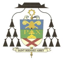 The Coat of Arms of Saint Bernard Abbey in Cullman, Alabama