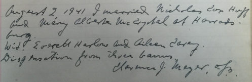 fr. clarence signature