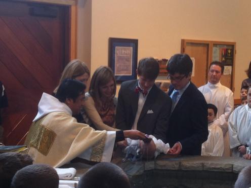 dedman baptism